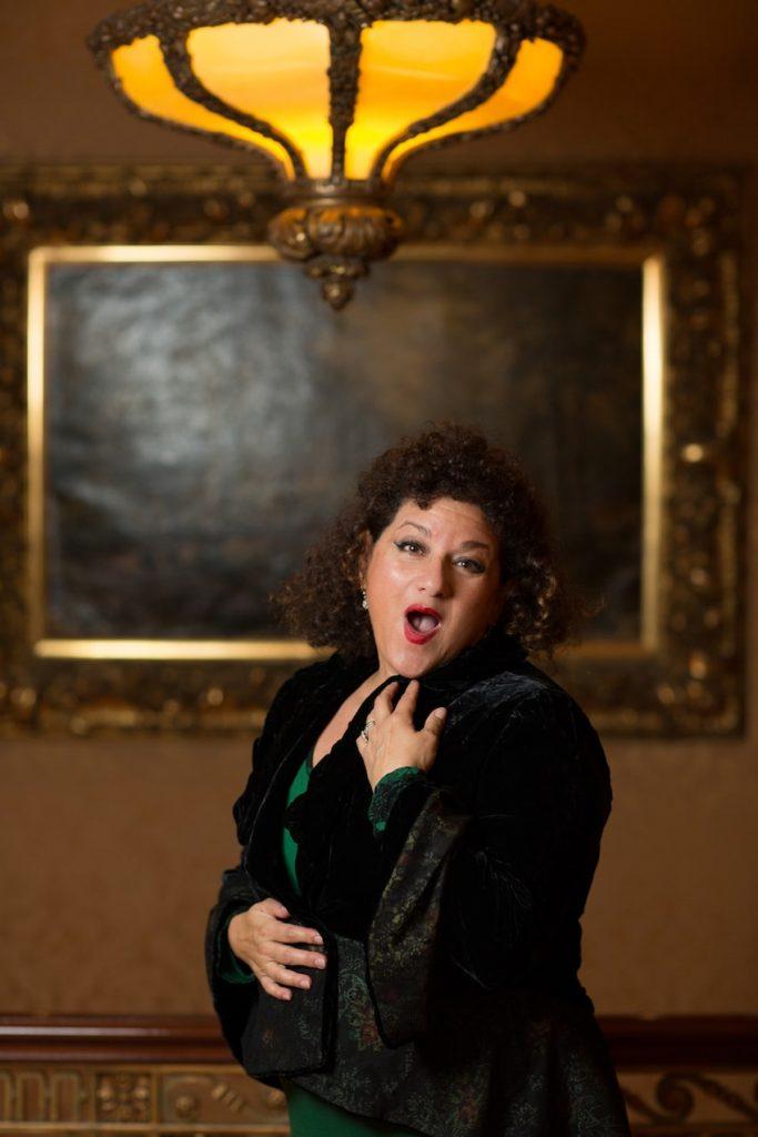 Opera singer Sharon Azrieli