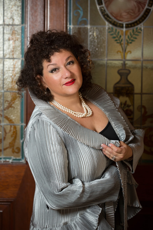 Soprano opera singer Sharon Azrieli